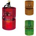 便利グッズ関連商品 神栄ホームクリエイト(旧新協和) 消火器ボックス(据置型) プラスチック製 SK-FEB-FG330 蛍光ピンク