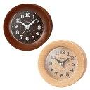 生活関連グッズ MAG(マグ) ウッド 目覚まし時計 T-754 ブラウン □置物・掛け時計 関連商品