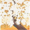 冠婚葬祭 関連 ふろしき 名作ふろしき 絹45cm幅 橋本明治 朝陽桜 11-0419-40