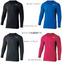スポーツ 関連 デュアルメッシュ ロングスリーブ クルーネックシャツ S JW-602 45・ブルー×ネイビー