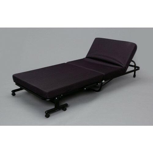 高反発 厚みのある10cmの マットレス ぐっすり 折りたたみベッド