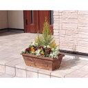 鉢 プランター 通気性と排水性にも優れています 便利 生活 焼杉メッシュプランターボックス 【単品販売】焼杉 YMB-540