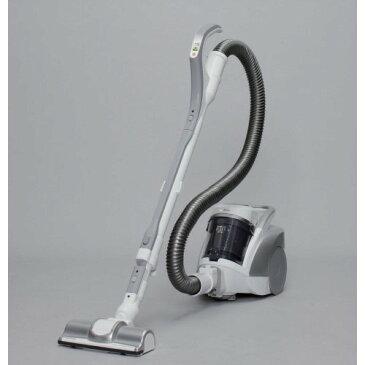 サイクロン式掃除機 コンパクト なボディ 暮らしと生活 サイクロンクリーナーコンパクト低騒音タイプ シルバー