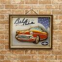 アメリカ雑貨 ディスプレイ用 プレート アンティークボード Chevrolet 50th Anniversary