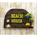 プレート welcomeボード 雑貨 ビーチウォールサイン BEACH HOUSE
