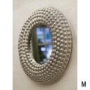 インテリア mirror アイアン デコレーションミラー ラウンド Mサイズ