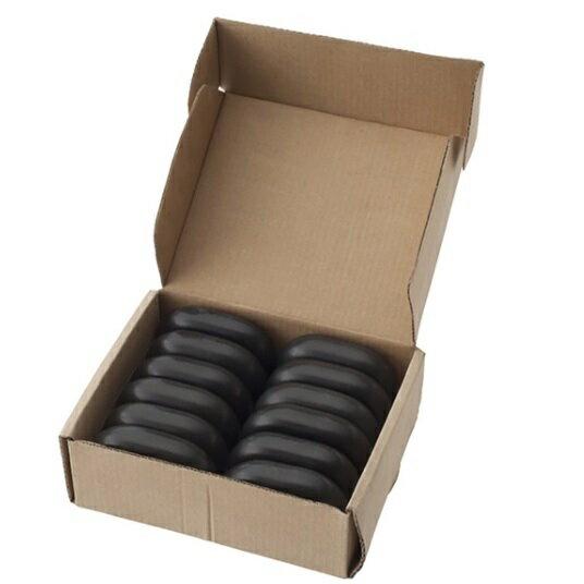 玄武岩ホットストーン中型サイズ(12個入)美容・コスメ・メイク道具・ケアグッズ・ボディマッサージグッ
