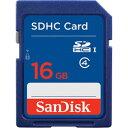お役立ちグッズ SDHCカード 16GB Class4 海外パッケージ SDSDB-016G-B35
