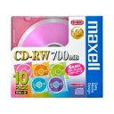 CD-R/RW 関連商品 1〜4倍速対応 データ用CD-RWメディア (700MB・10枚) CDRW80MIX1P10S