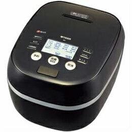 キッチン家電 関連商品 タイガー JPH-A100-K 土鍋圧力IH炊飯ジャー 「炊きたて」(5.5合) ブラック
