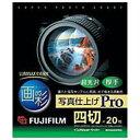 雑貨関連 富士フイルム 画彩 写真仕上げ Pro 四切サイズ・20枚 WP4G20PRO