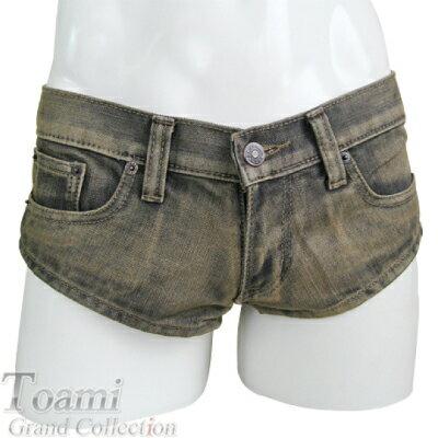 メンズファッションメンズデニムハイレグパンツMサイズセクシー男性用セクシーハイレグジーンズ