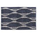 mat 敷き物 タフトラグ バーガンディ風 タフトラグ・マット サイズ:45×240cm カラー:グレイ