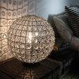 スタンドランプ スタンド照明 光 が 拡散 するように カット された クリア ビーズ お部屋 に 上品 な 華やか さを ビジュ フロアランプ Bigiu