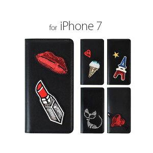 日用雑貨 GAZE iPhone7 Spangle ガトーネロ
