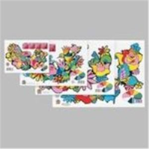生活用品・インテリア・雑貨 (業務用100セット) サンスター文具 色画用紙 CN-0235000-B A4 【×100セット】