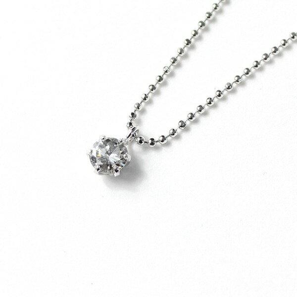 ファッション プラチナ 0.25ct ダイヤモンド ペンダント ネックレス 【薬用入浴剤 招福の湯 付き】誕生日クリスマス母の日などのギフトプレゼントにオススメです。