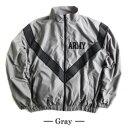 トップス関連商品 US ARMY IPFU 防風撥水加工大型リフレクタージャケットレプリカ グレー M