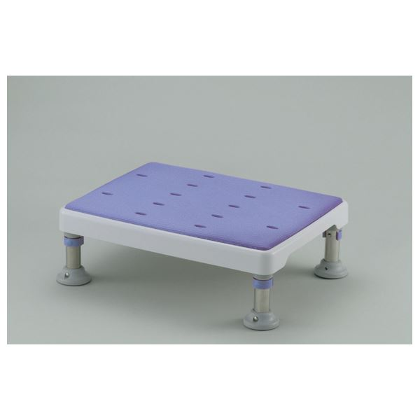 健康器具 やわらか浴槽台GR 2段階高さ調節付き(1) 【ロータイプ】 脱着式天板/天板シート [入浴用品/介護用品] 【角型せんたくネット 付き】やわらか素材の天板でおしりが痛くなりにくい浴そう補助椅子