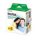 (まとめ買い)インスタントカラーフィルムinstax SQUARE ホワイト 1箱(20枚:10枚×2パック)【×3セット】