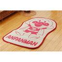 ござ アンパンマン 耐久性 純国産 い草ラグ デザイン:アンパンマンといっしょ サイズ:約70×120cm