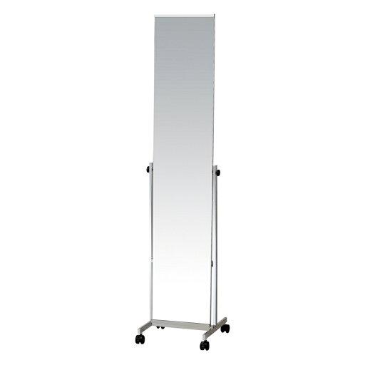 鏡 ミラー スタンド鏡 飛散防止加工 スタンドミラー W370