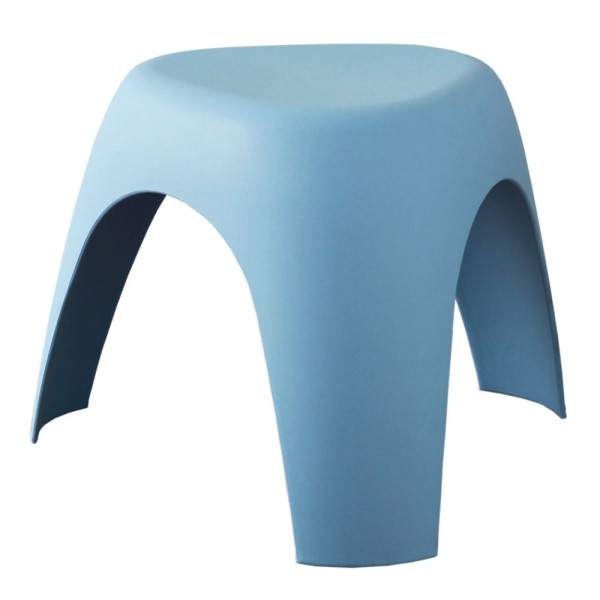 エレファントスツール 軽くて、強くて、コンパクトで、キュート インテリア 家具 柳宗理 3本脚 ブルー