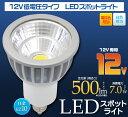 LED 電球 電気 LEDランプ ライト 12V低電圧タイプLEDスポットライト!電球色