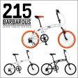 DOPPELGANGER(R) 20インチ折りたたみ自転車215Barbarous 215-BK(ジェット・ブラック)