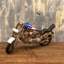 おしゃれ 部屋 ヴィンテージカー[Old バイク]レトロ ブリキ ビンテージ 置物 オブジェ