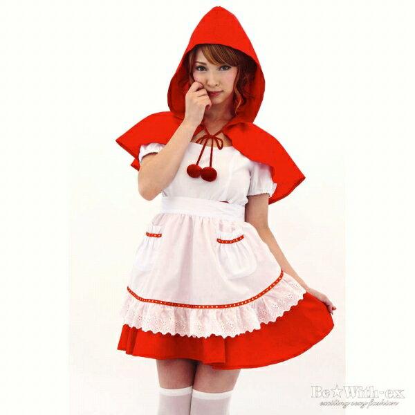 ハロウィン 仮装 ハロイン halloween costume ハローウィンコスプレ ファンタジー!!赤ずきんちゃん 衣装 ワンピース・エプロン・フード