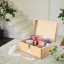 くすり箱 収納ボックス Made in Japan 木製救急箱