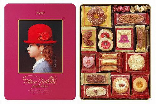 赤い帽子 ピンクボックス 16460