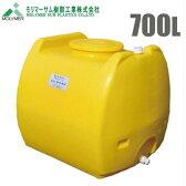 【送料無料】ローリータンク 700L 〔農薬タンク 農業資材 農業用タンク 貯水タンク 防災 薬品貯蔵 ポリエチレン製〕
