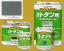 アトムハウスペイント 油性塗料 ルーフコート(油性トタン用)  色:ニューグレー 14L(一斗缶サイズ)