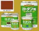 アトムハウスペイント 油性塗料 ルーフコート(油性トタン用)  色:茶(赤さび) 14L(一斗缶サイズ)