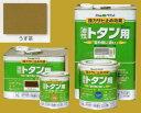 アトムハウスペイント 油性塗料 ルーフコート(油性トタン用)  色:うす茶 14L(一斗缶サイズ)