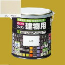 ロックペイント 油性つやありウレタン塗料 ウレタン建物用 H06-C331 色:グレーサンド 0.7L