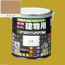 ロックペイント 油性つやありウレタン塗料 ウレタン建物用 H06-1607 色:ちゃいろ 0.7L