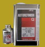 2液型アクリルウレタン樹脂塗料(10:1型)硬化剤セット自動車塗料 ロックペイント 150-1150 マルチトップクリヤーQR(標準) 硬化剤付セット 1kg