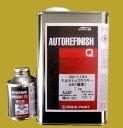 自動車塗料 ロックペイント 150-1150 マルチトップクリヤーQR(標準) 硬化剤付セット 1.1kg