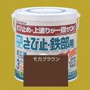 アトムハウスペイント 水性さび止め塗料 水性さび止め・鉄部用 色:モカブラウン 0.7L