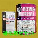 ロックペイント 202-1990 ミラクルプラサフHB(ブラック) 202-0110 硬化剤付セット 5.4kg