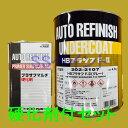 ロックペイント 202-2107 HBプラサフF.II(グレー) 202-0110 硬化剤付セット 5.4kg
