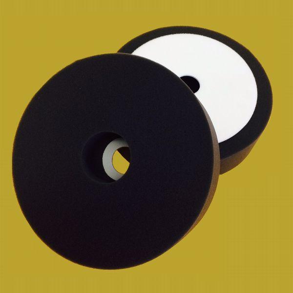 スポンジバフ(ウレタンバフ)ブラック B-185-4 サイズ径185×45×厚40mm 1枚入/袋