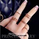 リングレディースアクセサリー指先を美しく飾る 指輪「ファラン...