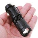 ミニLEDフラッシュライト トーチ 焦点ズーム機能付!MINI LED FLASHLIGHT TORCH・軍用・スワット・SWAT・アメリカ