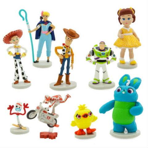 Toy Story4 Deluxe Figure Set トイストーリー4 デラックス フィギアセット・9個プレイセット・バズ・ウッディー・ジェシー・ダッキー・バニー・フォーキー・ガビー・アメリカ