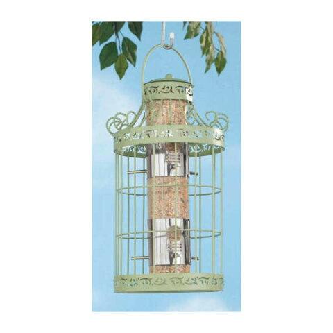 Jeanine Bird Feeder 庭・ガーデニング・鳥・えさ箱・バードフィーダー・アイアン・えさ台・えさ置き・餌箱・餌付け