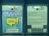 1995 MASTERS TOURNAMENT (大师赛)入场徽章[1995 MASTERS TOURNAMENT (マスターズトーナメント) 入場バッジ]